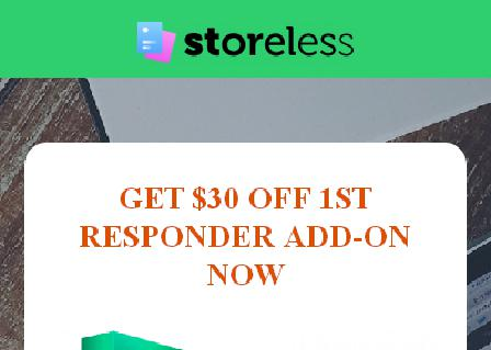 1st Responder Add-on (Discounted) review