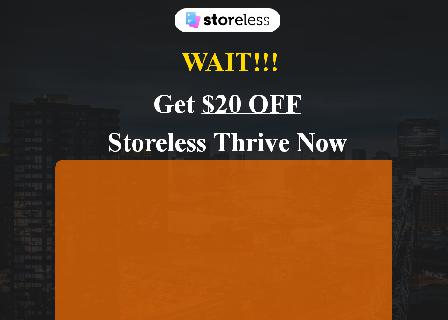 Storeless Thrive (Discounted) review