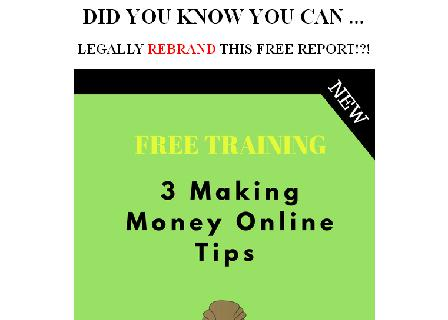 3 Tips Making Money Online review
