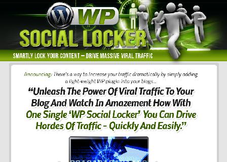 WP Social Locker PLR review
