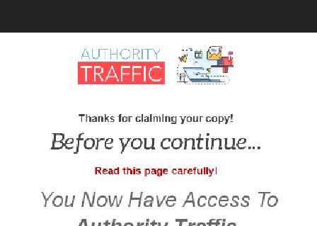 Authority Traffic Video Tutorials review