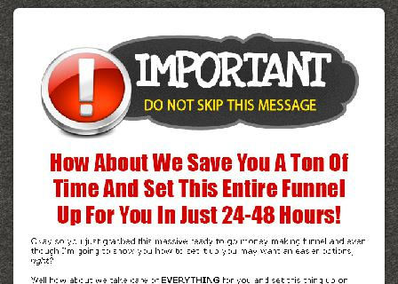 Your Own Affiliate Marketing System V1 Install Service review