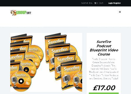 Surefire Podcast Blueprint Video Course review