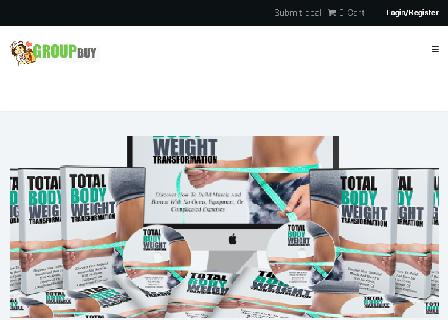 Total Body Weight Transformation Video Course review