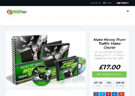 Make Money From Traffic Video Course review