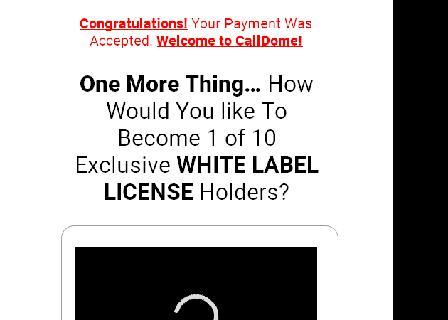 CallDome White Label Rights review