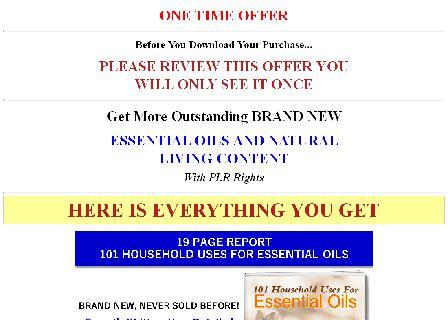 New Giant - Essential Oils PLR OTO 1 review
