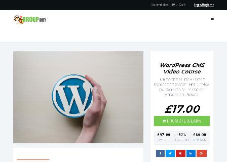 WordPress CMS Video Course review