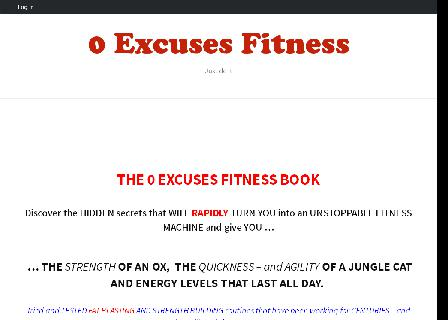 0 Excuses Fitness review