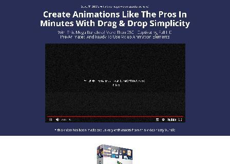 Stock Animation Bundle V1 MOV + GIF review
