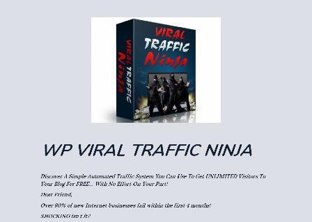 WP Viral Traffic Ninja review