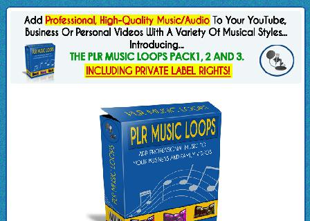 PLR Royalty Free Music Loops review