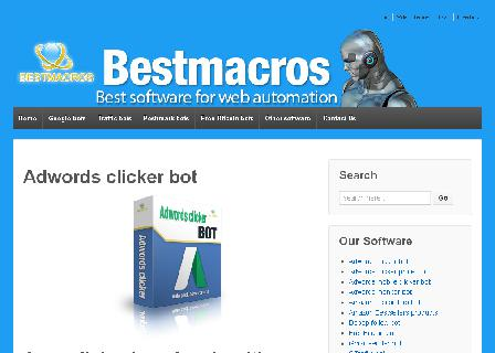 Adwords clicker BOT - 7 days trial review
