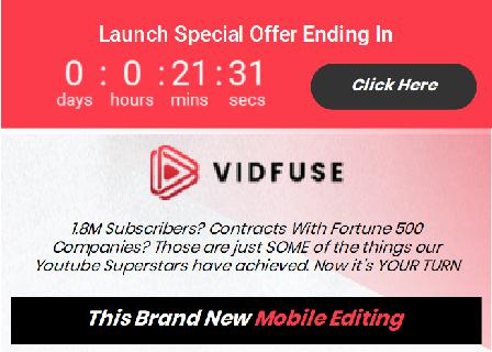 Vidfuse LITE - Video Creation App Personal Use review