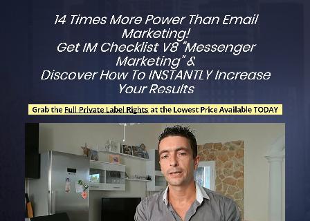 IM Checklist Volume 8: Messenger Marketing review