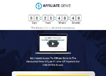 Affiliate Genie review