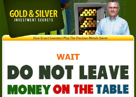OTO Gold and Silver Investment Secrets review