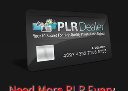 PLR Dealer Elite Membership SP Trial review