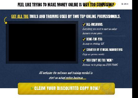 Profit Canvas Complete Affiliate Website System review