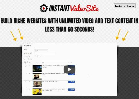 Instant Video Site - Steve