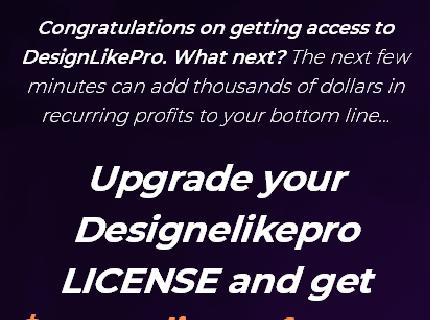 DesignLikePro Bumper Deal Developers review