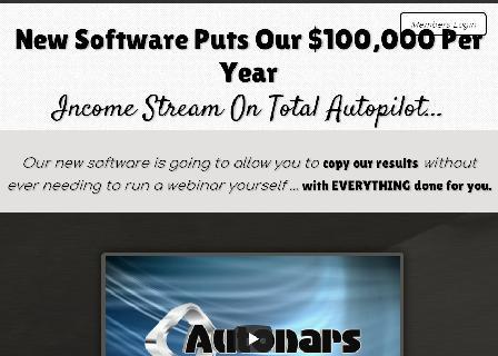 Autonars Instant Webinar System review
