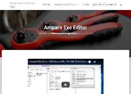 Ampare Exe Editor review