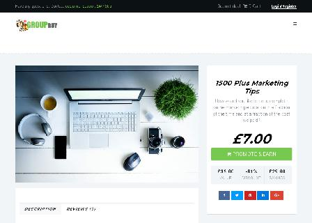 1500 Plus Marketing Tips review