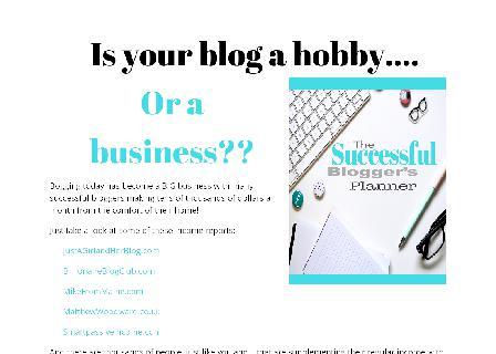 The Successful Blogger
