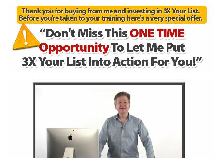 3X Your List Done For You review
