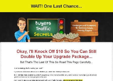 Buyers Traffic Secrets (Save $10) review