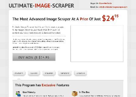Ultimate Image Scraper review