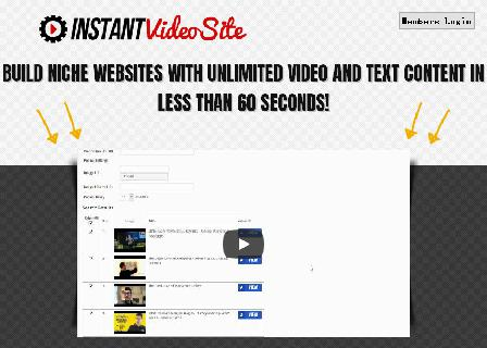 INSTANT Video Site - TrendFunnels Best Seller review