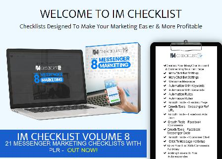 IM Checklist Volume 9: Outsourcing review