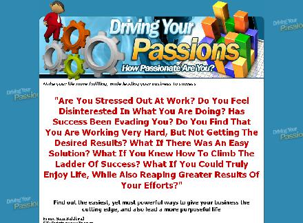 Driving Your Passions review