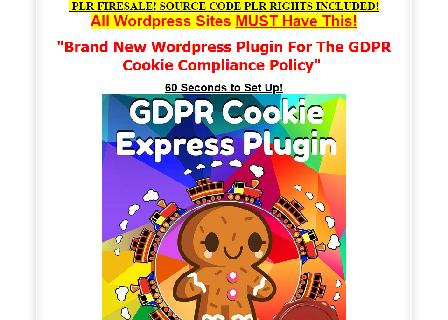 [PLR Source Code] GDPR Cookie WordPress Plugin review