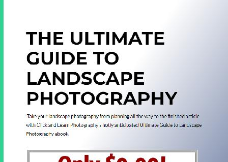 Ultimate Guide to Landscape Photography review