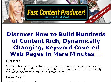 Build Hundreds of Content Rich review