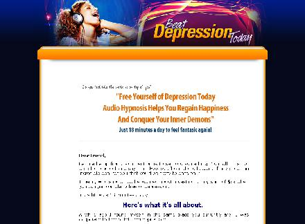 Free Yourself of Depression Today With the Power of Hypnosis. review
