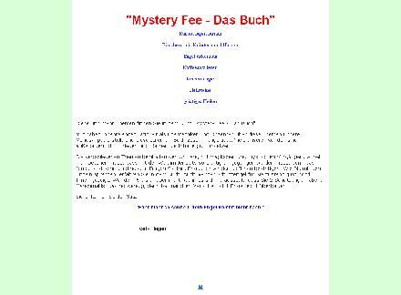 Mystery Fee - Das Buch review