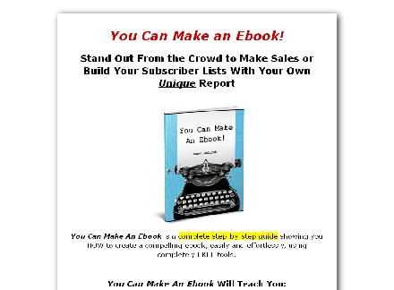 You Can Make An Ebook! review