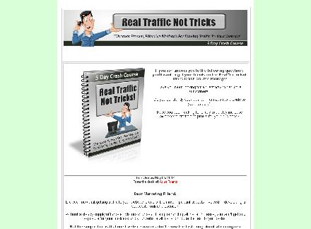 Real Traffic Not Tricks review