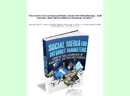 Social Media For Internet Marketers review