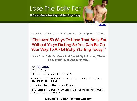 Lose The Belly Fat review