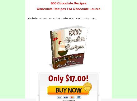 600 Chocolate Recipes review