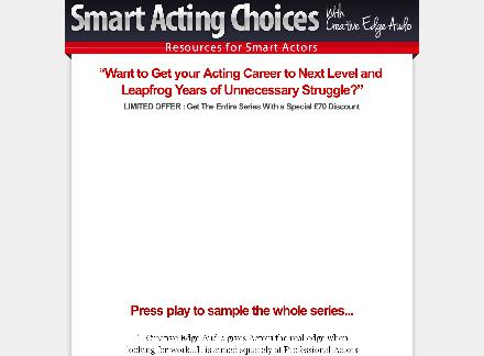 Smart Acting Choices review