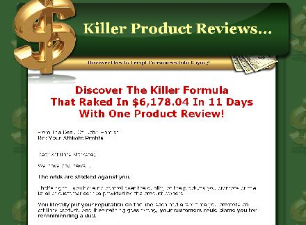 Affiliate Fast Cash - Write Killer Product Reviews review