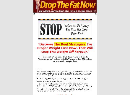 Drop The Fat Now-  Weight Loss Now review
