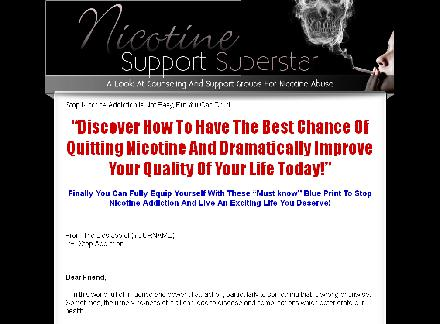 Nicotine Support Superstar review