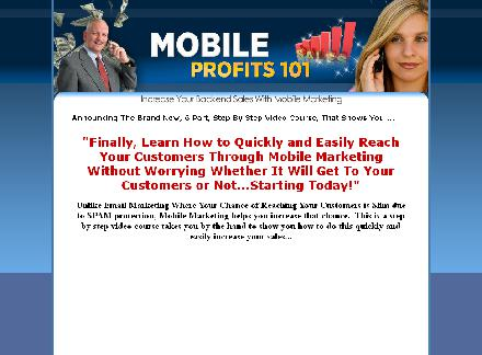 Mobile Marketing Video Training (with PLR) review